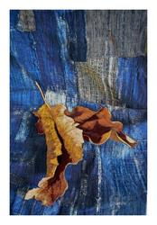 Still Life: Two Leaves and Boro, var. 2