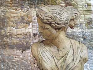 Beautiful Faces, var. 13, Garden Goddess with Roman Wall (Artemis)